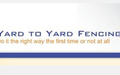 Fencing Contractors in Canberra