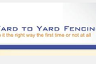 Yard To Yard Fencing Logo