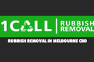 1 Call Rubbish Removal Logo