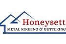 Honeysett Metal Roofing and Guttering Logo