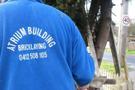 Atrium Building and Bricklaying Logo
