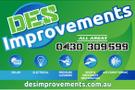 D.E.S. Improvements Logo