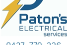 Paton's Electrical Services Logo