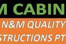 N.M Cabinet Making & Construction Logo