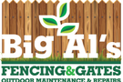Big Al's Fencing & Gates Logo