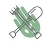 Exceed Landscaping & Garden Maintenance Logo