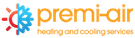 Premi-air Heating & Cooling Services Logo