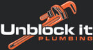 Unblock It Plumbing Logo