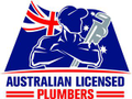 Australian Licensed Electricians and Plumbers Logo