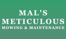 Mal's Meticulous Mowing & Maintenance Logo