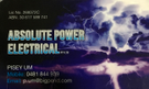 ABSOLUTE POWER ELECTRICAL Logo