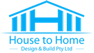 House to Home Design and Build Logo