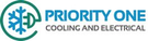 Priority One Cooling & Electrical Logo