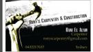 Rony's Carpentry & Construction Logo