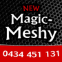 Magic Meshy yes aluminium   Logo