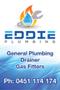 Eddie Plumbing Pty Ltd Logo