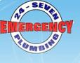 24 Seven Emergency Plumbing Logo