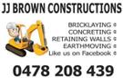 JJ Brown Construction PTY LTD Logo