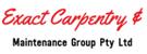 Exact Carpentry & Maintenance Group Pty Ltd Logo