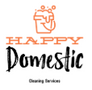 Happy Domestic Cleaning Services Logo