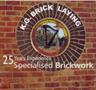 KG Bricklaying Logo