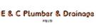 E & C Plumbers & Drainage Pty Ltd Logo