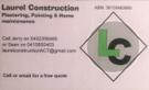 Laurel Construction Logo