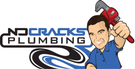 No Cracks Plumbing Logo
