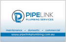 Pipelink Plumbing Services Pty Ltd Logo