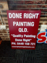 Done Right Painting Qld Logo