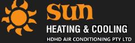 Sun Heating And Cooling Logo