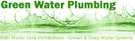 Green Water Plumbing Logo