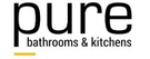 Pure Bathrooms & Kitchens Logo