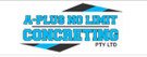 A Plus No Limit Concreting Pty Ltd Logo