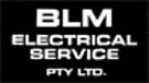 BLM Electrical Service Pty Ltd Logo