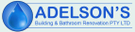 Adelson's Building and Bathroom Renovations Logo