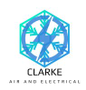 Clarke Air and Electrical Logo