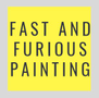 Fast And Furious Painting Logo