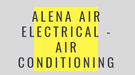 Alena Air Electrical - Air Conditioning Logo