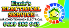 Ernie's Electrical Service Logo