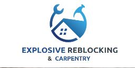 Explosive Reblocking & Carpentry Logo
