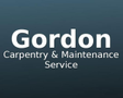 Gordon Carpentry & Maintenance Service Logo