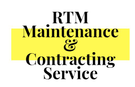 RTM Maintenance & Contracting Service Logo