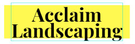 Acclaim Landscaping Logo