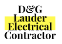 D&G Lauder Electrical Contractor Logo