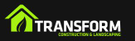Transform Construction and Landscaping Logo