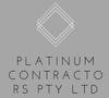 Platinum Contractors Pty Ltd Logo