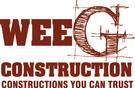 Wee G Construction Logo