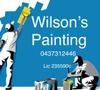Wilson's Painting Logo
