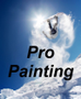 Pro Painting Commercial and Residential Logo